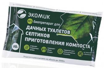 Биопрепарат для приготовления компоста Экомик
