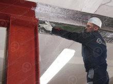 Обработка металлических конструкций системами конструктивной огнезащиты