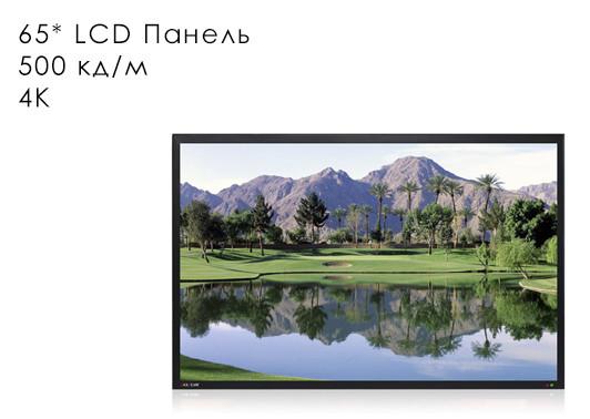 "Профессиональная панель 65"" ZAX-YJ65LED/4K/Z"
