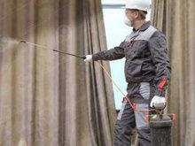 Обработка текстильных материалов огнебиозащитной пропиткой