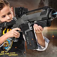 Футуристическая автоматическая винтовка с дополненной виртуальной реальность (AR) + стрельба водяными шарикам