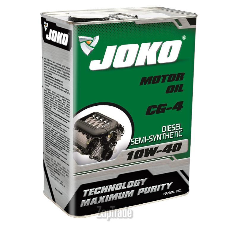 Моторное масло JOKO Diesel Semi-Synthetic CG 10w-40 4л