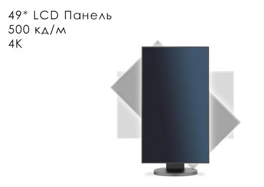 """Профессиональная панель 49"""" ZAX-49PJ080P-LED"""