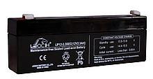 Аккумулятор AGM Leoch LP12-2.3 (2.3Ah 12V)  Герметизированные аккумуляторы для машинок и др