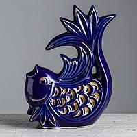 """Копилка """"Рыбка"""" большая синяя, фото 1"""