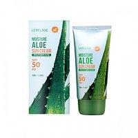 Солнцезащитный крем Lebelage Moisture Aloe Sun Cream SPF 50 / PA+++70 ml.