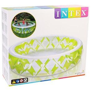 Надувной бассейн Intex 57182 «Колесо» (Габариты: 229 х 56 см на 1200 литров ), фото 2