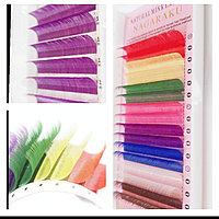 Цветные ресницы для наращивания Нагараку