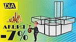 Акция именная - Скидка 7% на витрины Аква