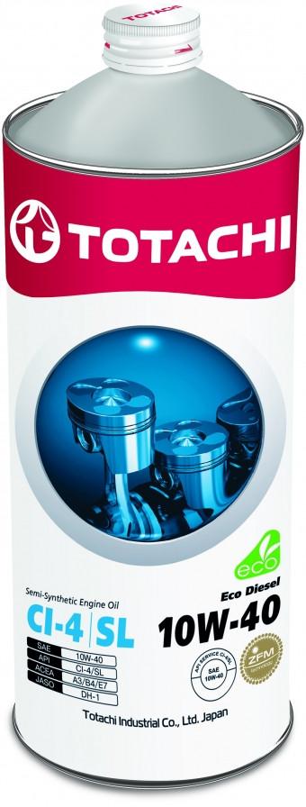 Полусинтетическое моторное масло TOTACHI Eco Diesel 10W-40 1L
