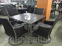 Набор мебели, стол + четыре крутящихся кресла КОКО