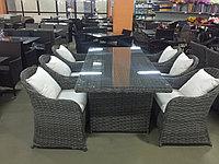 Комплект плетенной мебели стол и 6 кресел ФАНСТЭ