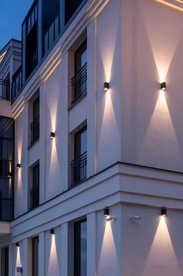 Светильники настенные архитектурные, tubus led, прожекторы типа up - down