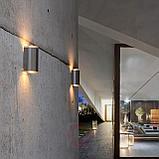 Светильники настенные архитектурные, tubus led, прожекторы типа up - down, фасадные светильники 24 ватт, фото 5