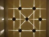 Светильники настенные архитектурные, tubus led, прожекторы типа up - down, фасадные светильники 4 ватт, фото 3