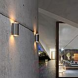 Светильники настенные архитектурные, tubus led, прожекторы типа up - down, фасадные светильники 4 ватт, фото 5