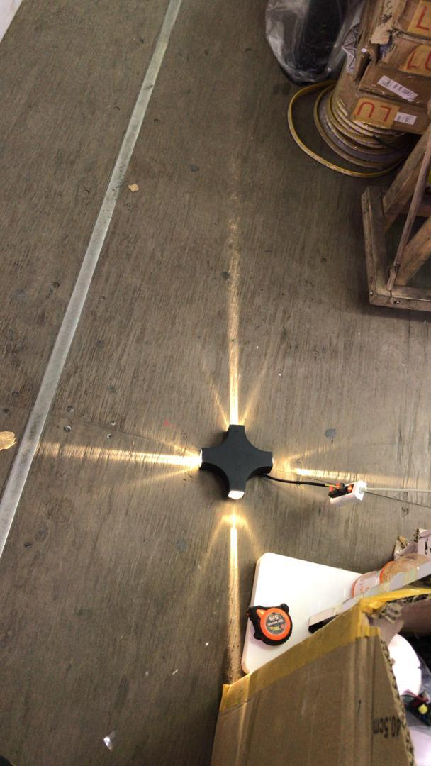 Светильники настенные архитектурные, tubus led, прожекторы типа up - down, фасадные светильники 4 ватт