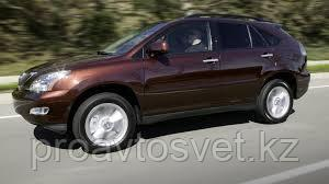 Переходные рамки на Lexus RX II (XU30) AFS Hella 3  R