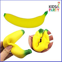 Сквиши squishy,Банан размер 17х4 см , фото 1