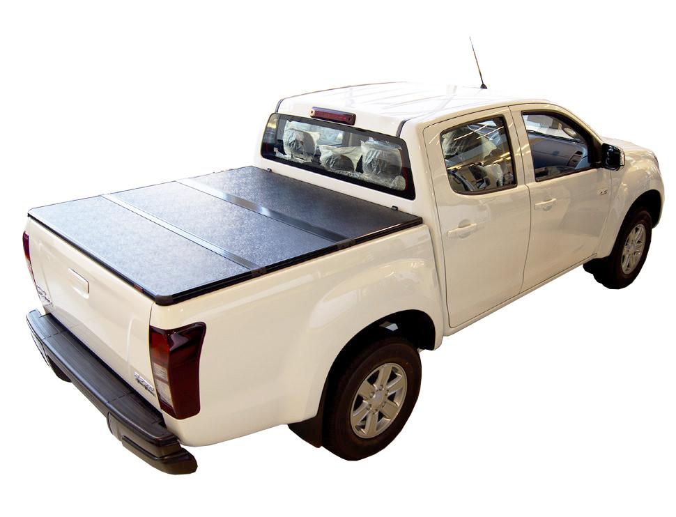Жесткая крышка кузова 2012+ Isuzu D-Max Double Cab,1.47m Bed