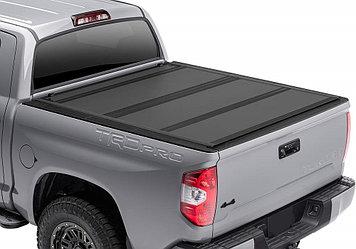 Жесткая четырехсекционная крышка 2007+ Toyota Tundra Regular/Double Cab,6.5' Short Bed