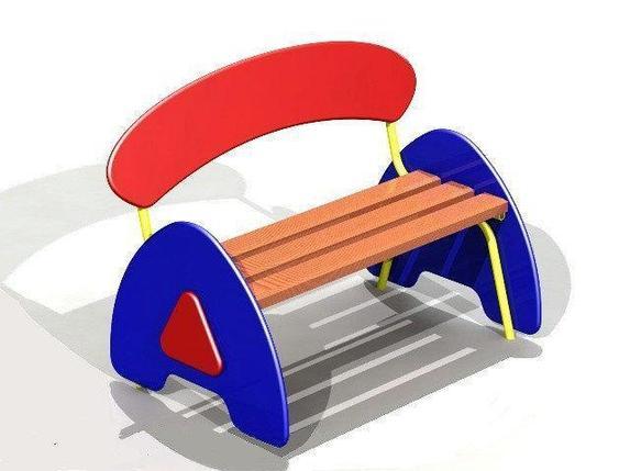 Скамейка детская для игровой площадки, фото 2