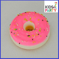 Сквиши squishy, Пончик , размер 6*3 см, фото 1