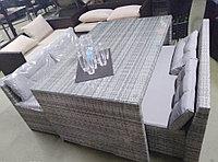 Комплект мебели из искусственного ротанга. Комплект HUGO