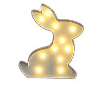 Светильник Кролик (на батарейках)