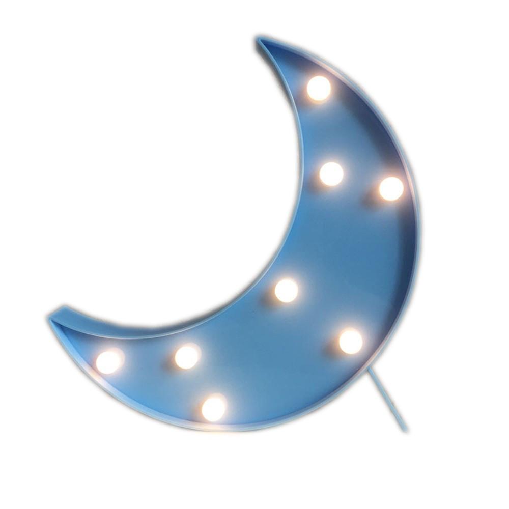 Светильник Луна (на батарейках)