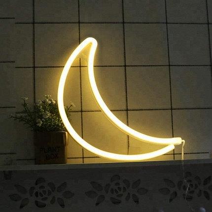 Светильник Неоновый Луна, фото 2