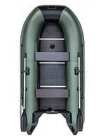 Гребная лодка RUSH 3000 СК зелёный/черный, фото 1