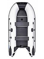 Лодка надувная гребная RUSH 3000 СК светло-серый/черный, фото 1