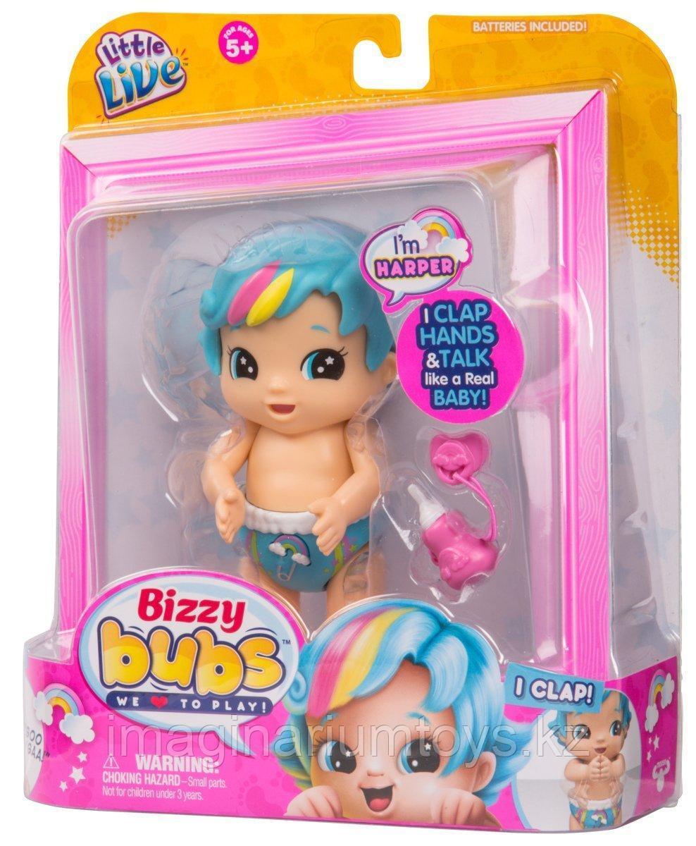 Кукла интерактивная Бизи Бабс Bizzy Bubs Harper