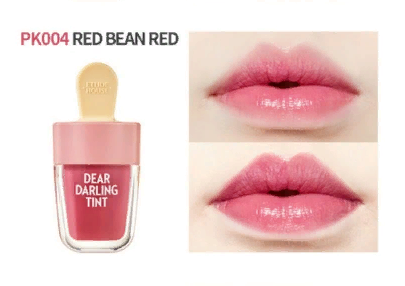 Тинт для губ Dear Darling Water Gel Tint 4.5g (Etude House) (#RK 004 Red Bean Red)