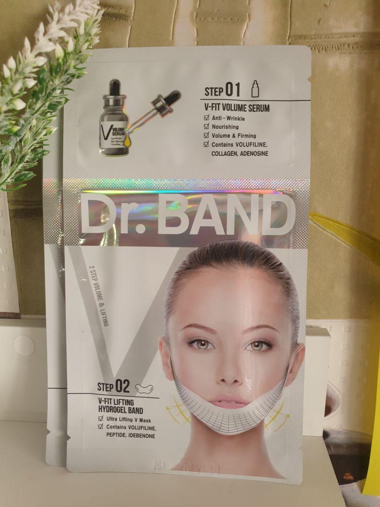 Маска для подтяжки контура лица Dr. Band + Ampoule V Mask (Daycell)