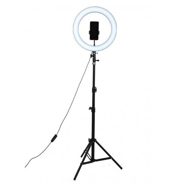 Кольцевая лампа для селфи M-30, MAKEUP, Макияж