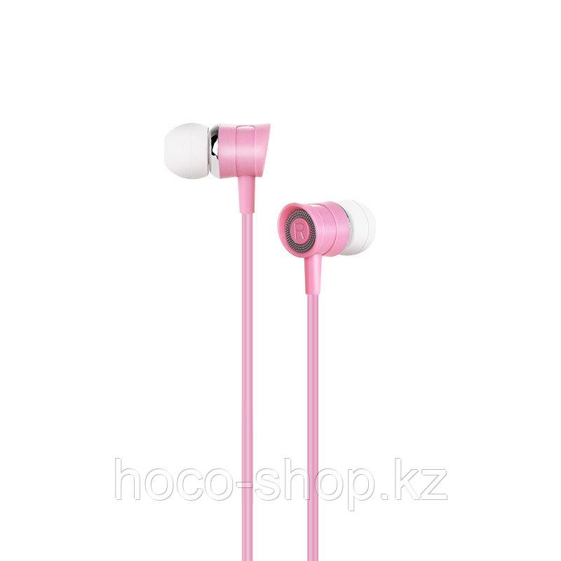 Наушники проводные вакуумные Hoco M37,pink