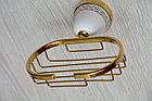 Настенная мыльница (Золото), фото 2