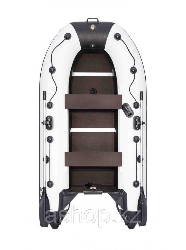 Лодка надувная моторно-гребная килевая Ривьера Компакт 2900 СК, Грузоподъемность: 450кг, Вместимость: 2 чел.,