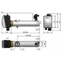 Нагреватель для бассейна Pahlen 6 kW с датчиком давления