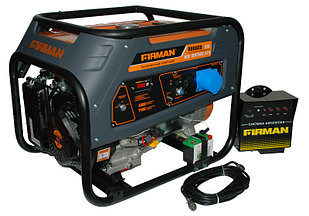 Бензиновый однофазный с авр  генератор FIRMAN RD9910E+ATS