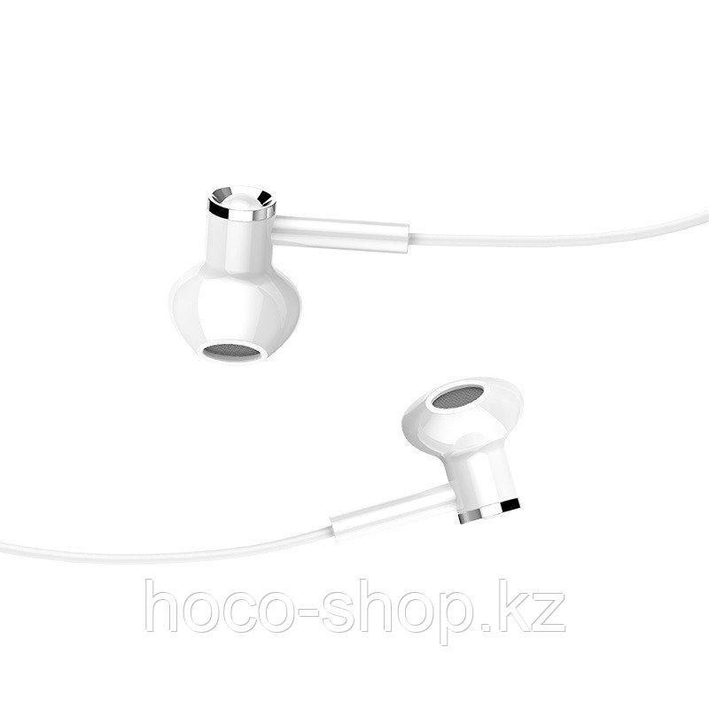 Универсальные наушники M47 Canorous universal earphones with microphone, white