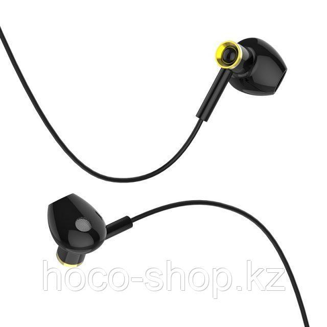 Универсальные наушники M47 Canorous universal earphones with microphone, black