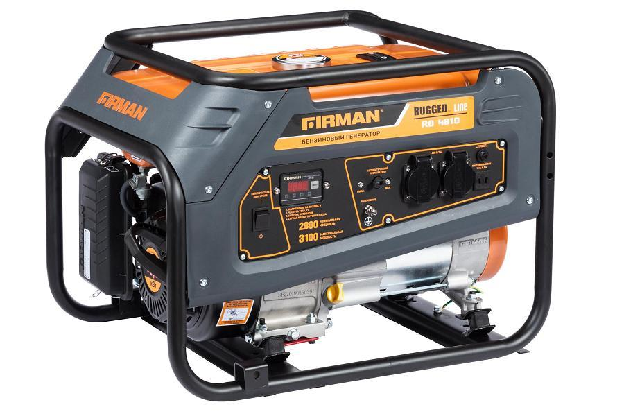 Бензиновый генератор FIRMAN RD4910