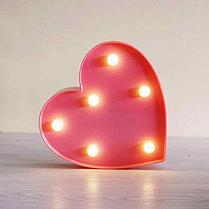 Светильник Сердце маленькое (на батарейках), фото 3