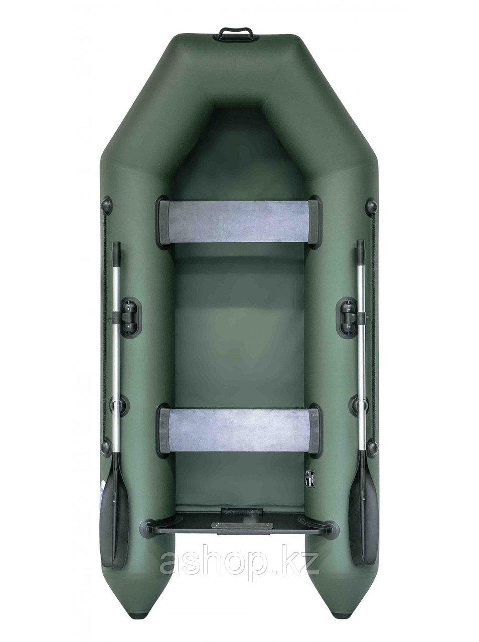 Лодка надувная моторно-гребная плоскодонная Rush 2800, Грузоподъемность: 220кг, Вместимость: 2 чел., Кол-во от