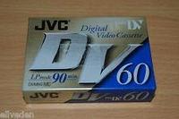 Кассета для видеокамеры JVC MiniDV M-DV60ME