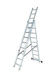 Лестница алюминиевая ВИХРЬ ЛА 3х7