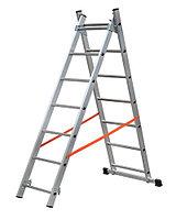 Лестница алюминиевая ВИХРЬ ЛА 2х7